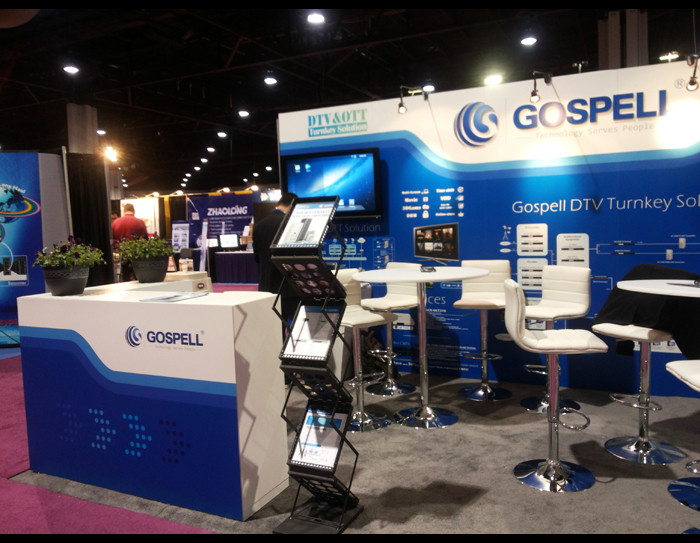Gospell w 2013 Cable Tec Show
